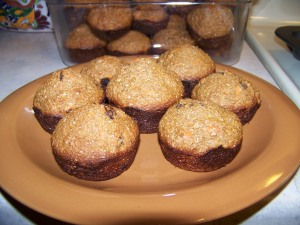 Carrot and Bran Muffins