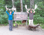 On our best behavior in Liarsville, AK