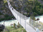 Scary Suspension Bridge