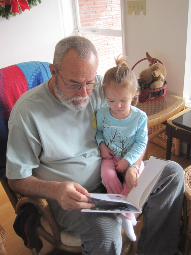 12-23-12 M reading with Gpa Ron