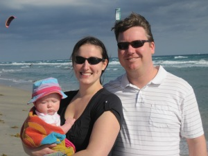 M first trip to Beach 12-31-11 Family Shot (3)