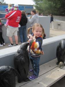 4-15-13 Penguin Statue