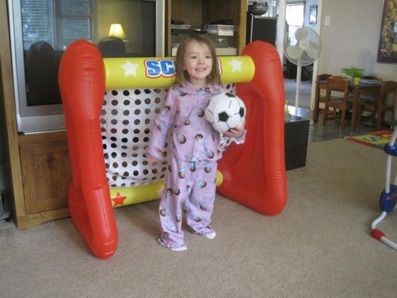 7-27-13 M 3 years soccer goal