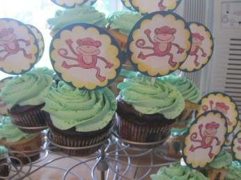 7-27-13 M bday cupcakes