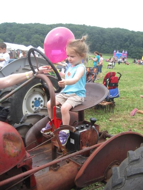 8-31-13 Farm Day Tractor