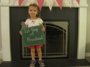 9-10-13 M first day preschool