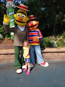 08-14-15 Sesame Place M Bert Ernie