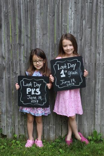 2017-06-19 Sisters Last Day of school